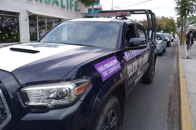 Por negarse a usar cubrebocas detienen a bolero en Tehuacán