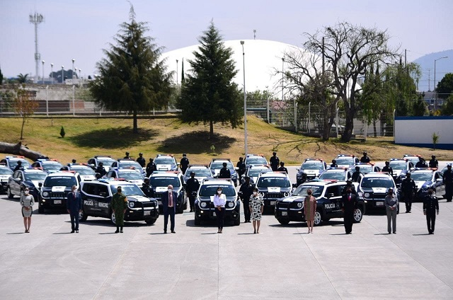 Ayuntamiento de Puebla fortalece operatividad de la Policía Municipal