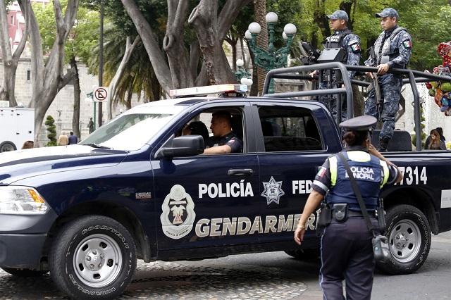 Llega Gendarmería para vigilar la capital y zona de ductos: Segob