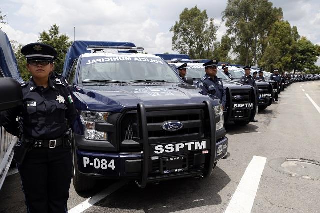 Desconocen alcaldes de Puebla cambios en mandos policiacos