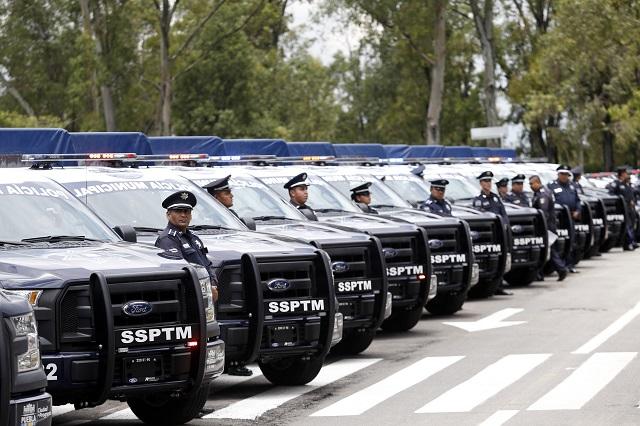 Compra Puebla capital 75 patrullas por 64.1 mdp