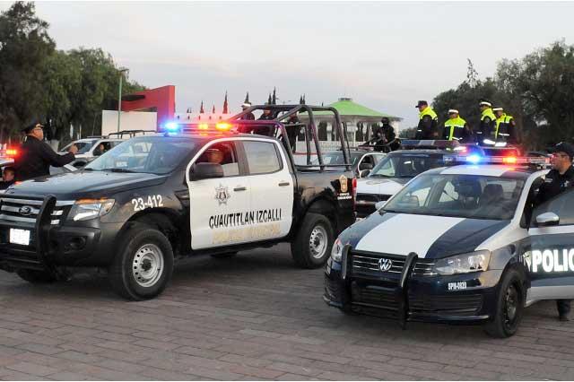 Secuestran a 2 policías y les roban la patrulla en Cuautitlán Izcalli