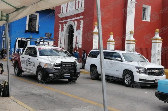 Por visita de Barbosa desempolvan patrullas en Zacapoaxtla