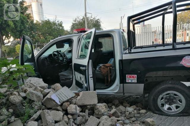 En pésimas condiciones 50 patrullas de San Andrés Cholula
