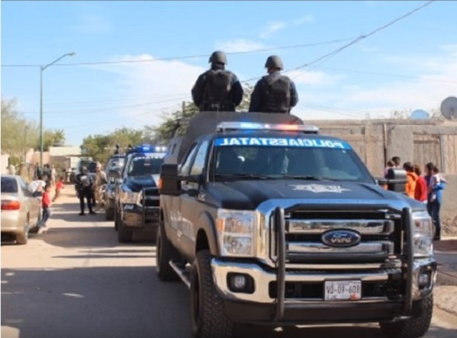 Sicarios emboscan y asesinan a dos policías en Cajeme, Sonora