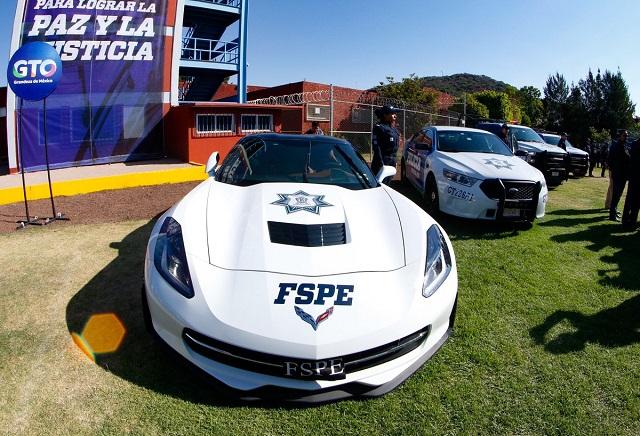 Policías de Guanajuato perseguirán a delincuentes en patrullas Camaro y Corvette