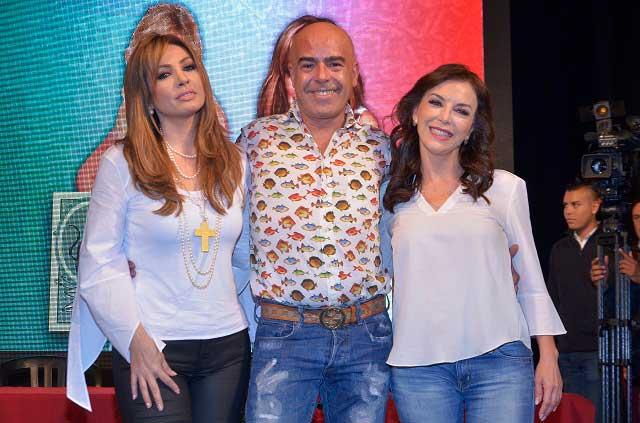 Paty Navidad y Laura Flores criticarán la corrupción en obra de teatro