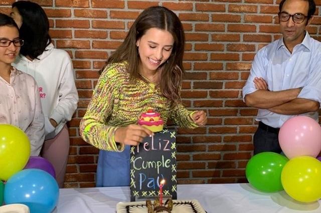 Así celebró Paulina Goto su cumpleaños número 28