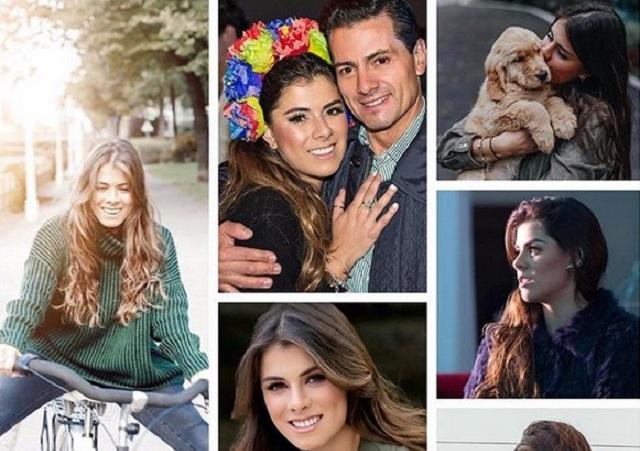 Hija de Peña Nieto conserva peluche que era de su mamá