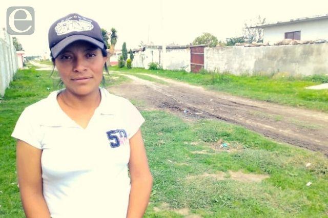 Exhiben falta de pavimento en calles en Tepeyahualco