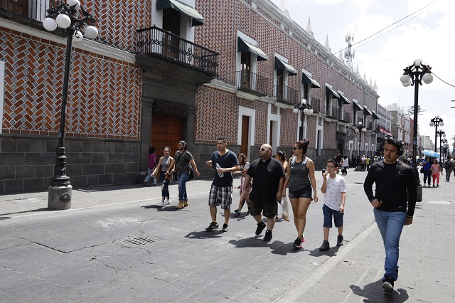Rechazan empresarios peatonizar calles del centro histórico poblano
