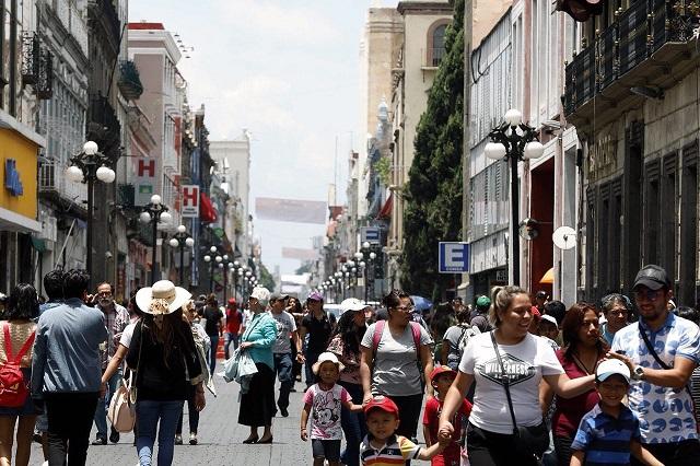Desde jueves, cierres en el centro de Puebla por estudio peatonal