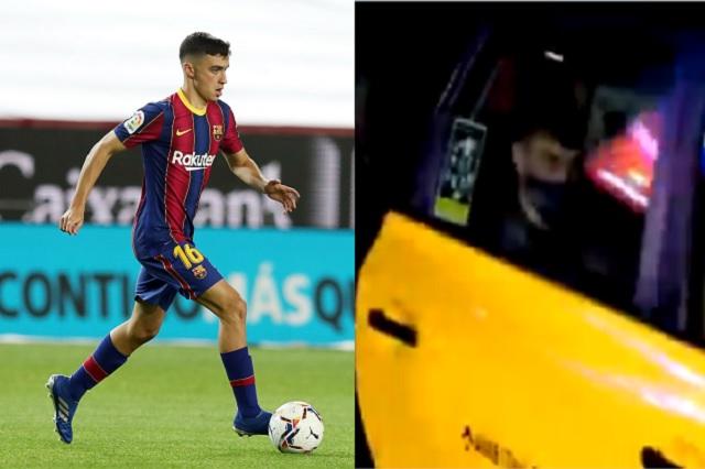 De anotar gol en Champions a regresar a casa en taxi; el caso de Pedri González