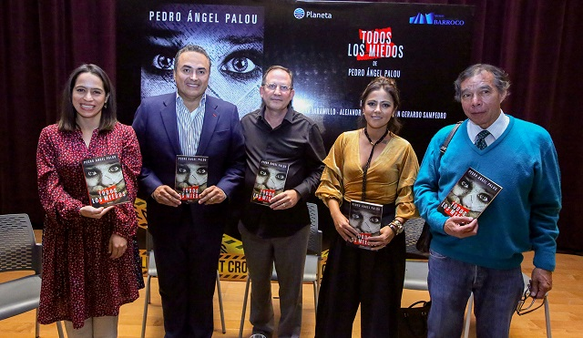 Aborda asesinato de periodistas la novela más reciente de Palou García