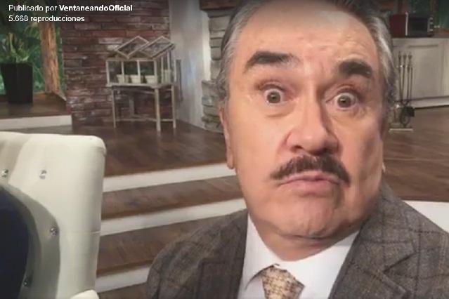 Señor don put…, le dice Bisogno a Pedro Sola por usar pestañas postizas