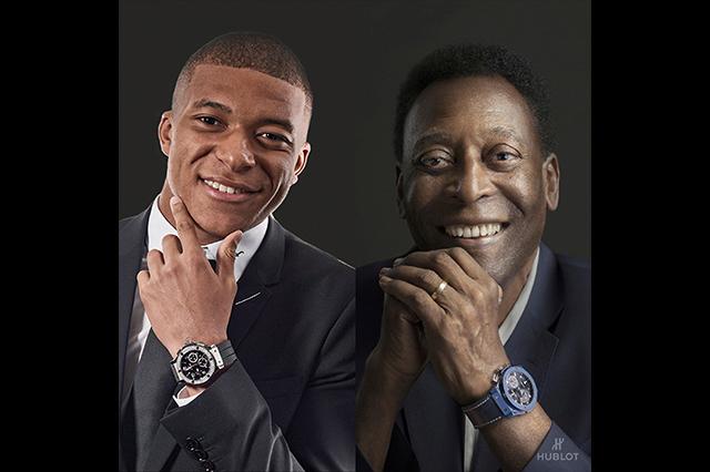 Pelé asegura que Mbappé será mejor que él