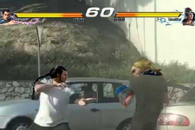 Al estilo Street Fighter conductores pelean y con memes se burlan de ellos