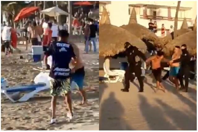 Aficionados de Chivas riñen entre sí en Mazatlán; ya hay detenidos