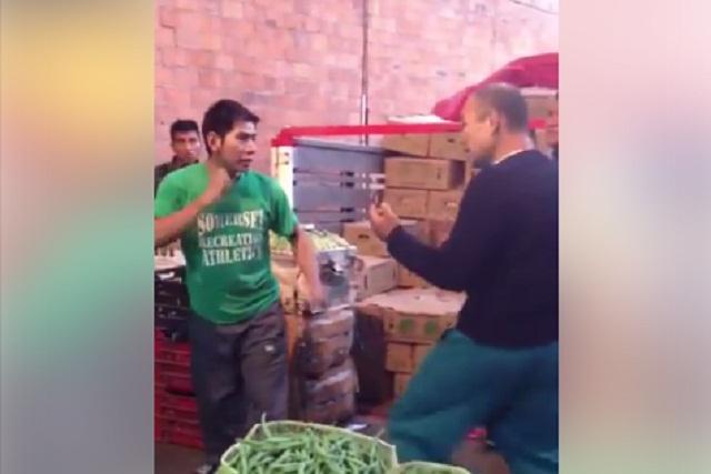 Anciano humilla y da golpiza a joven y video se vuelve viral