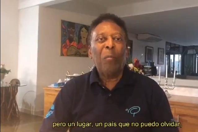 Pelé agradece al pueblo mexicano y asegura que es un país que no puede olvidar
