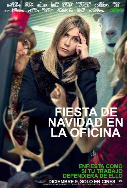 Jennifer aniston y su fiesta de navidad en la oficina for Fiesta en la oficina