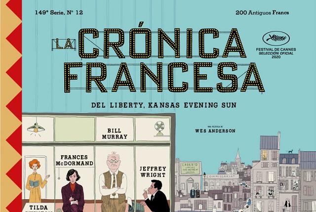 Estrenan trailer de La Crónica Francesa, cinta seleccionada para Cannes