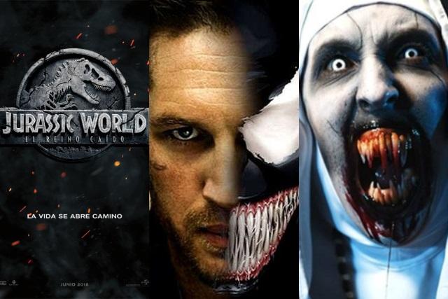 La Monja, Jurassic World y Venom, las peores películas del 2018