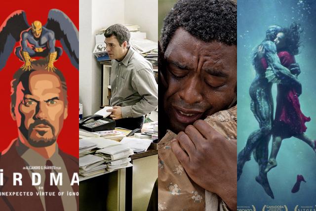 Las películas ganadoras del Oscar en los últimos 10 años