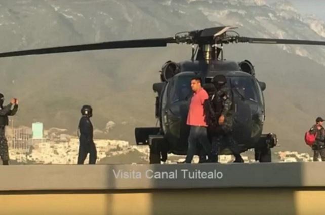 Capturan en Nuevo León a El Pelochas, líder del Cártel del Golfo