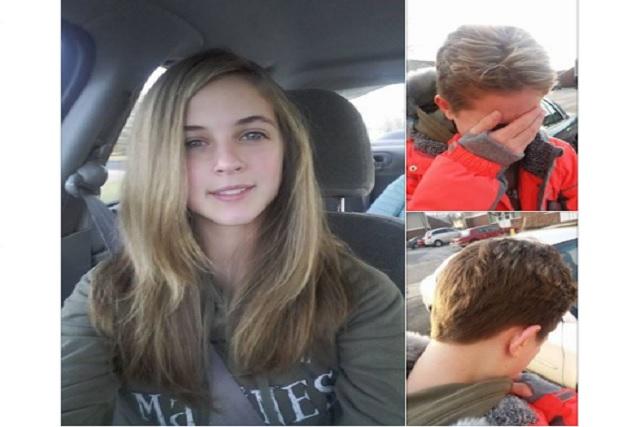 Su mamá le dio permiso de pintar su cabello ¡y su papá se lo cortó!