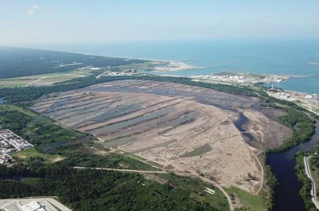 PEMEX construye refinería Dos Bocas en área protegida