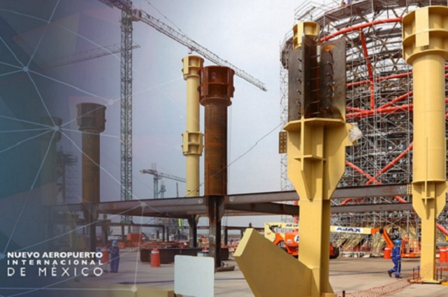 Espriú prevé que obras en el aeropuerto de Texcoco seguirán hasta el 4 de enero