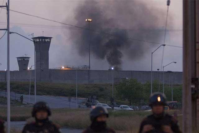 Motín en penal de Cadereyta deja un saldo de 4 muertos y 21 heridos