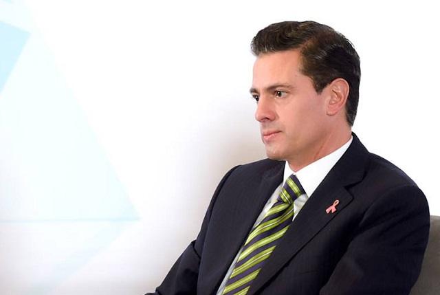 Reaparece Enrique Peña Nieto en público sin la Gaviota
