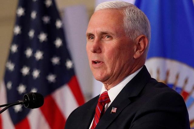 Vicepresidente Pence estaría en toma de posesión de Biden