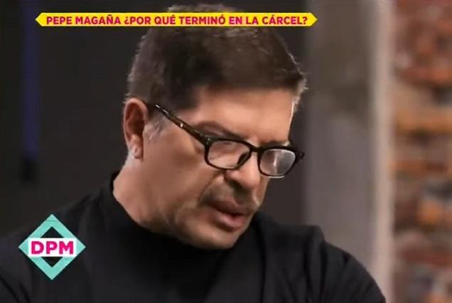 Pepe Magaña revela la razón por la que estuvo en prisión