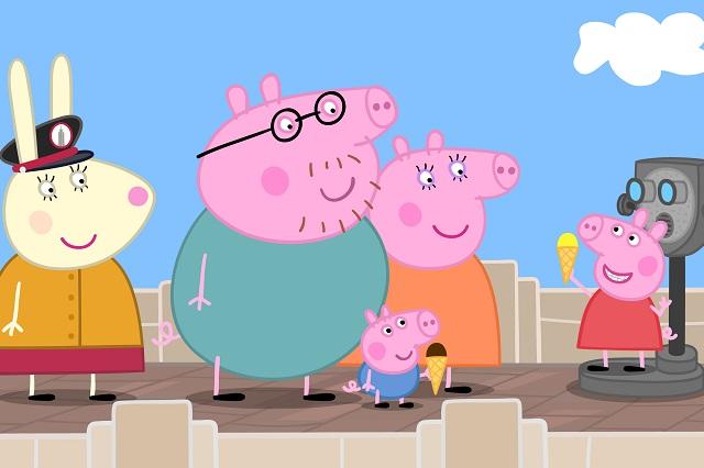 Preparan maratón de 24 de horas de Peppa Pig