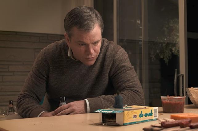 Matt Damon mide 12 centímetros en la película Pequeña gran vida