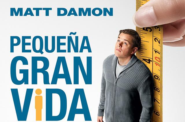 Pequeña gran vida: Matt Damon ahora medirá sólo 5 pulgadas