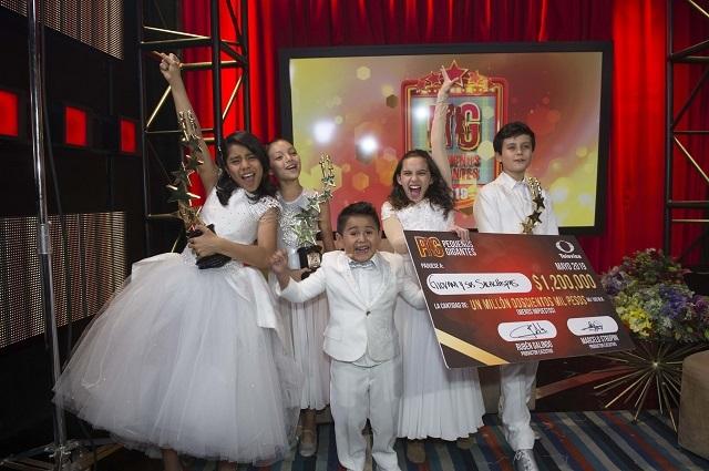 FOTOS: Giovani y los Sacachispas ganan Pequeños Gigantes 2019
