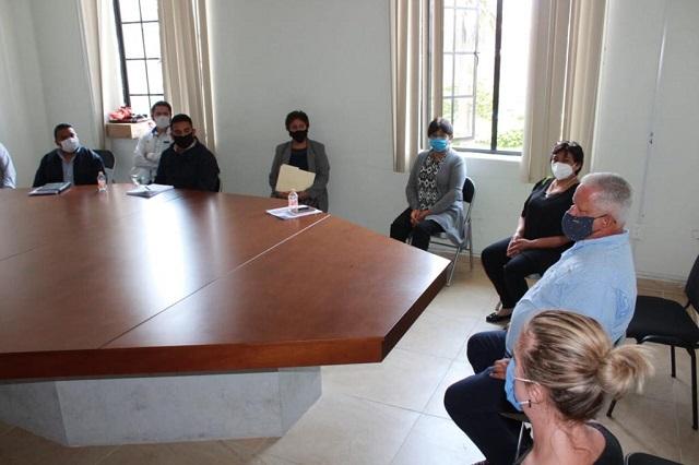 Capacitan a personal por medidas de prevención del COVID -19 en Teziutlán