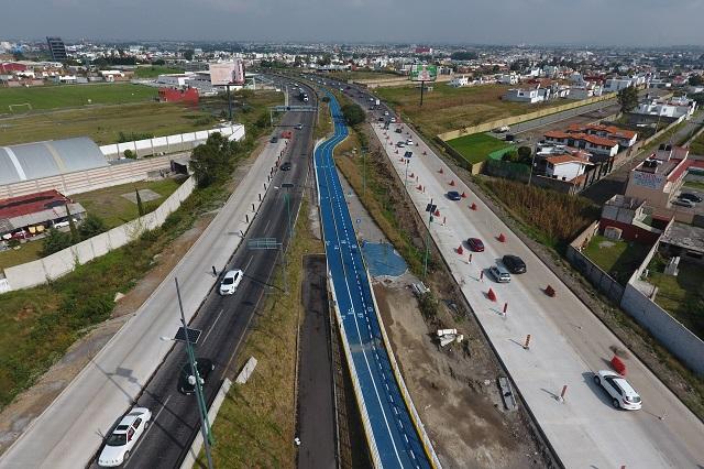 Cancelan pavimento hidráulico en tramo del Periférico Ecológico