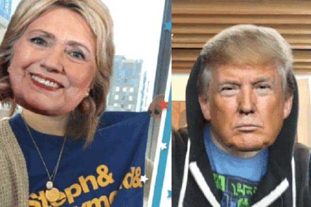 Con Periscope te puedes volver Hillary Clinton o Donald Trump