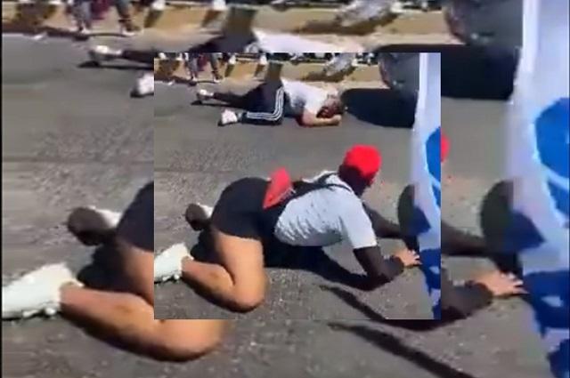 Duelo de perreo entre simpatizantes de Morena y PRI/PAN en Sinaloa