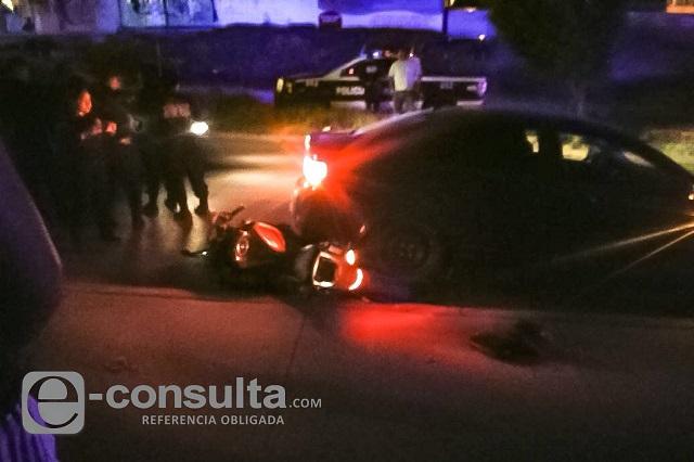 Persecución y balacera en la 11 Sur deja 2 policías de Ocoyucan heridos