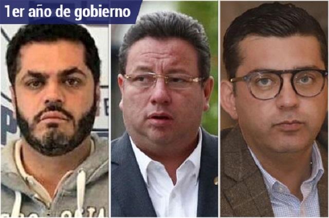 Patjane, Castañón y Chapa, los presos del primer año de la 4T
