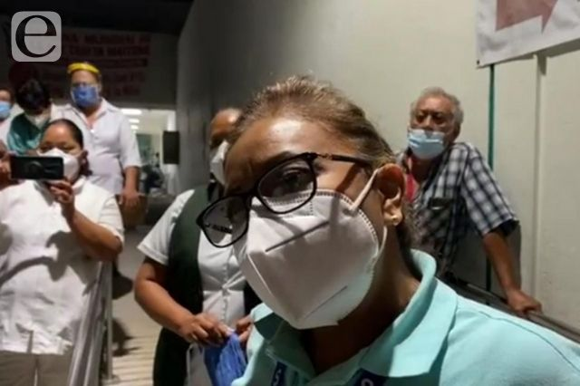 Se quejan en IMSS de Tehuacán por falta de insumos anticovid