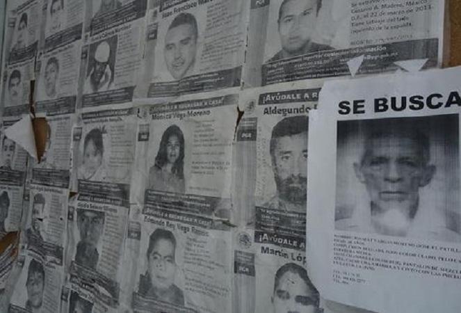 Recuperan nombres de desaparecidos ante ineficiencia de listas oficiales