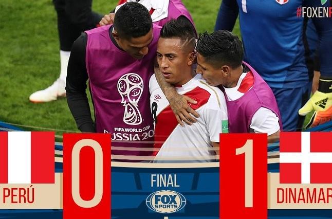 Perú sufre dolorosa derrota y pone en peligro su calificación