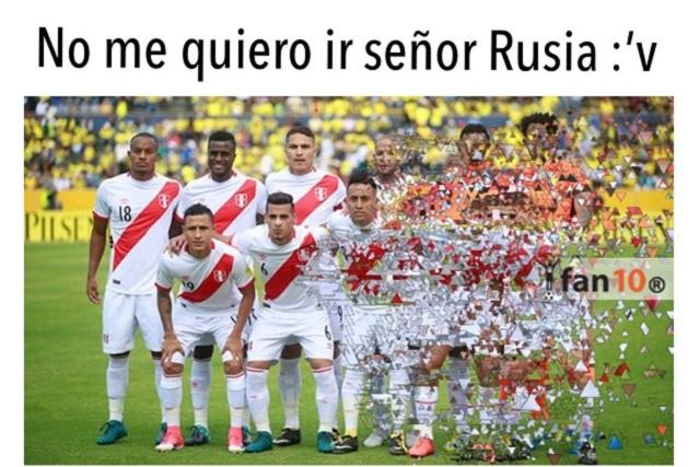 Memes despiden a Perú del mundial de Rusia 2018 tras caer ante Francia